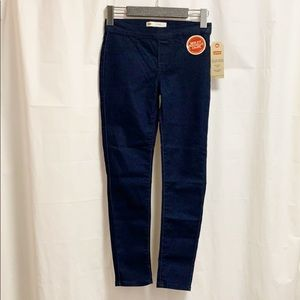 NWT Levi's Pull on Denim Leggings Girls 10 Regular